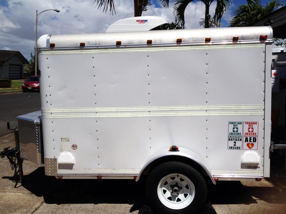 Dive Trailer Maxxair Fan Mate Installation Hawaii